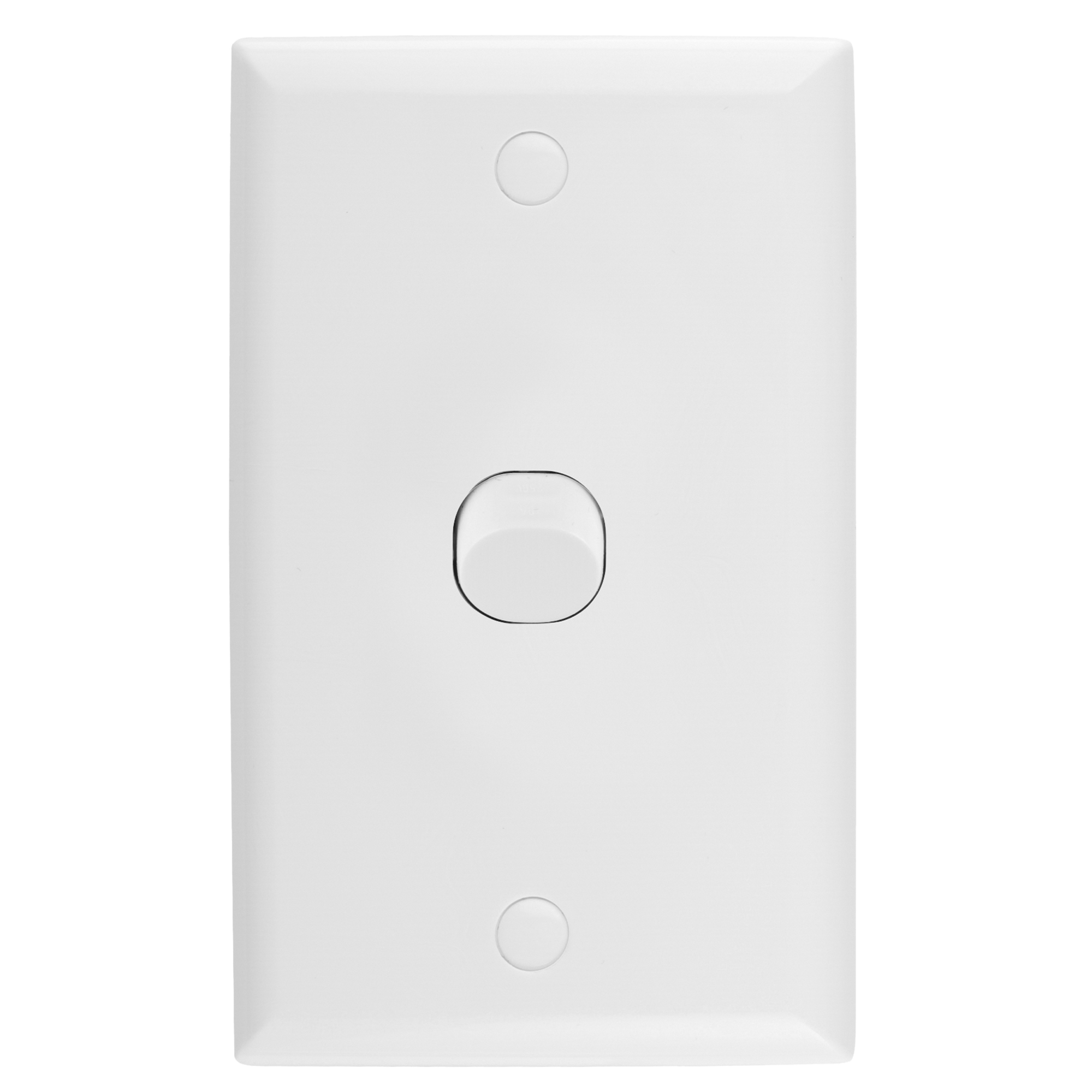 Single vertical wall switch