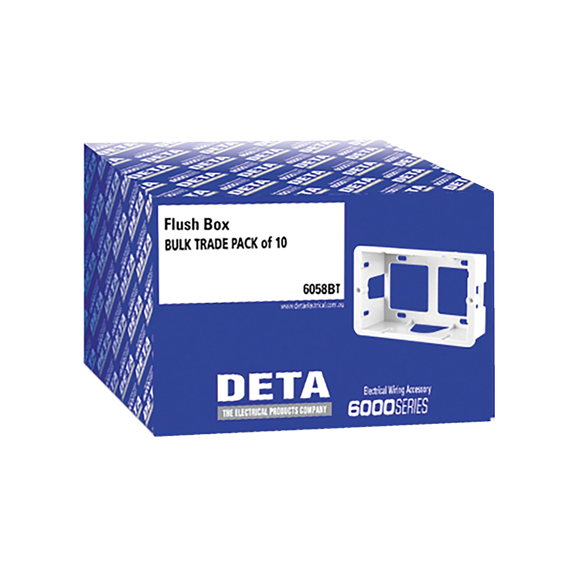 flush box - trade pack of 10