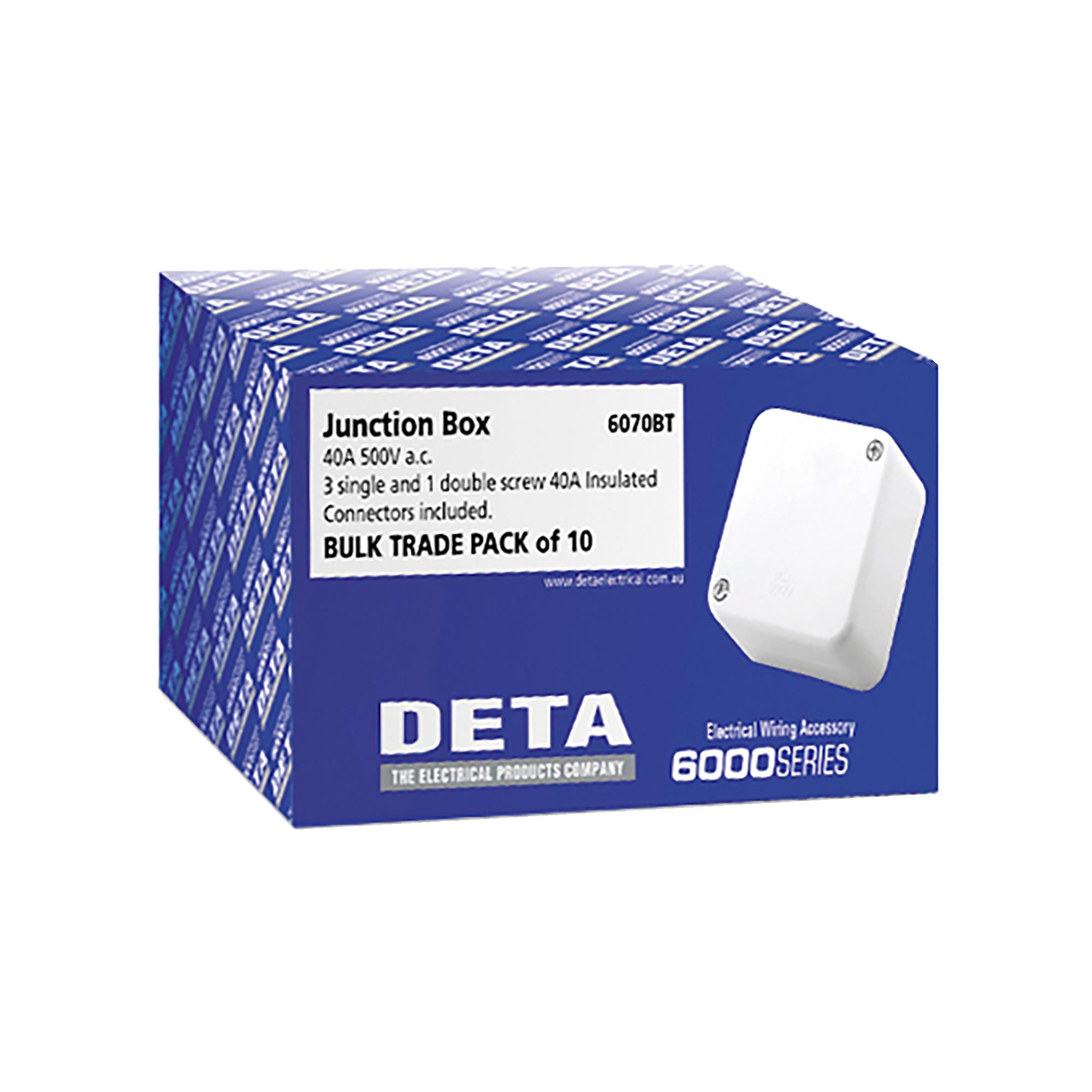 Deta junction box - 10 pack