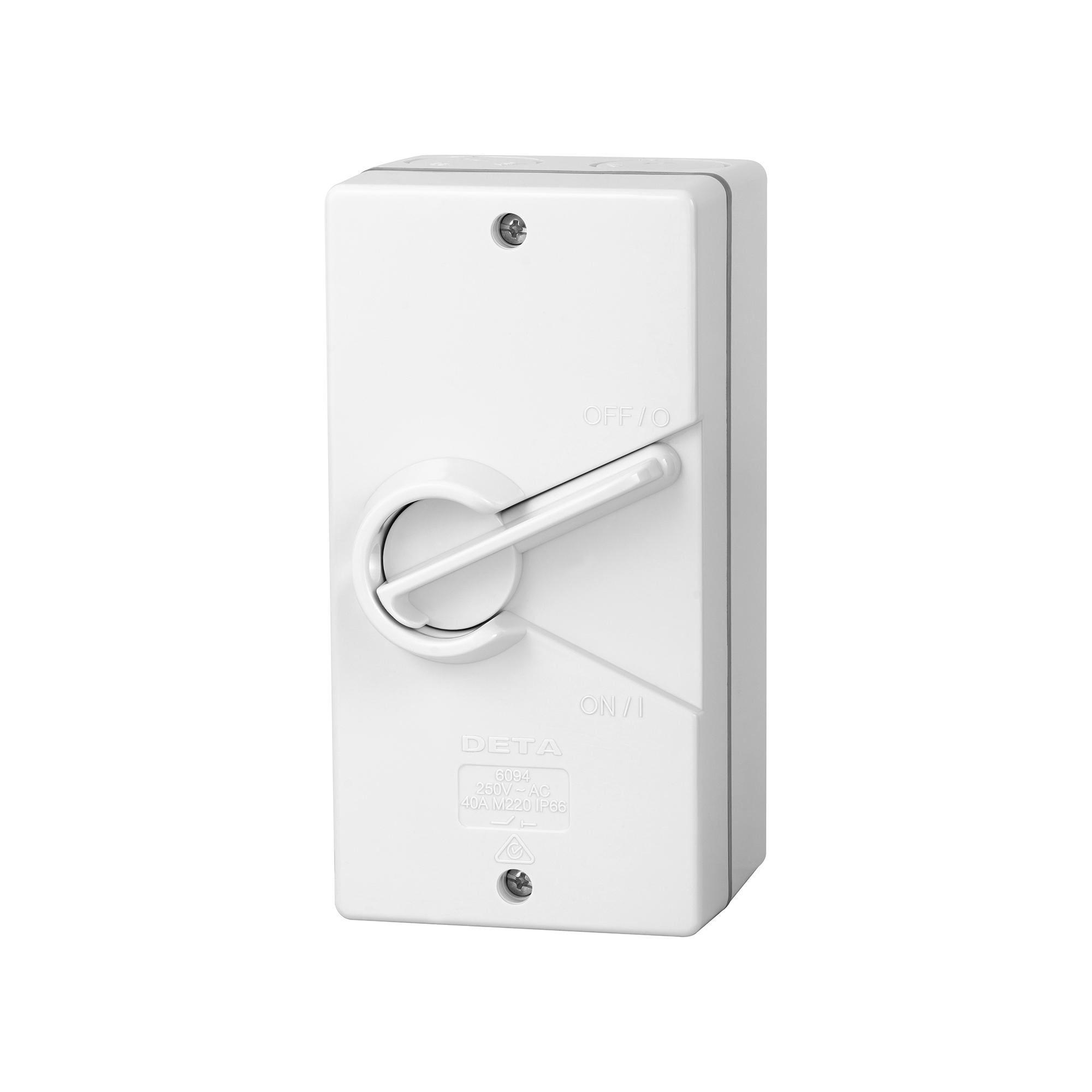 40 amp weatherproof isolator