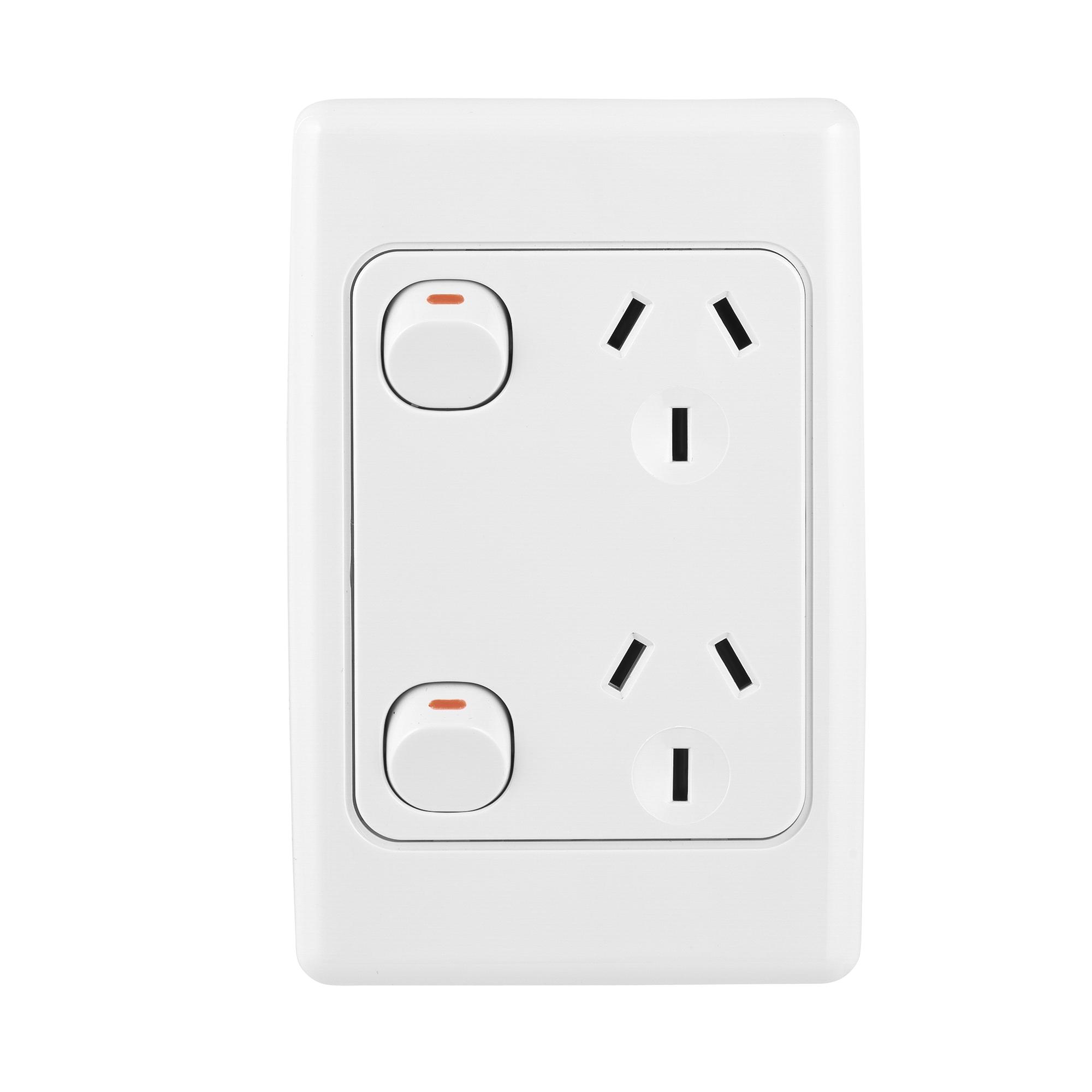 L vertical double power point