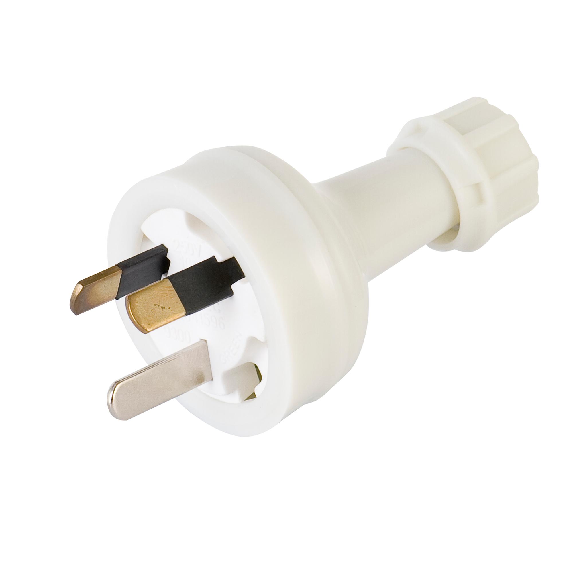 Deta 10a white plug top