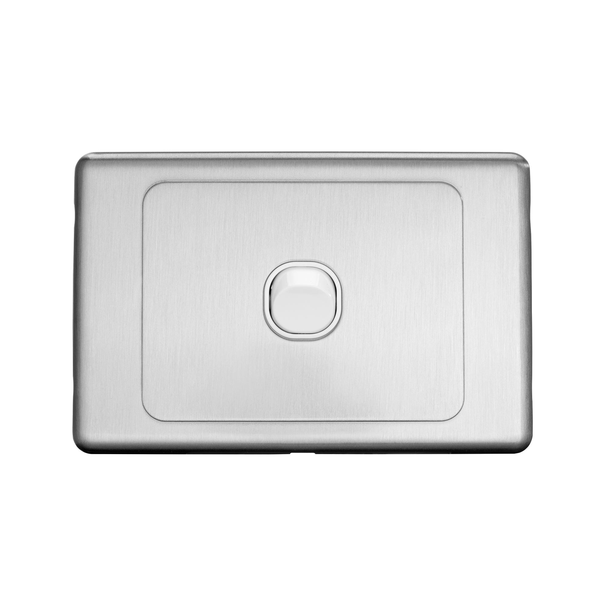 S-line s/steel single switch