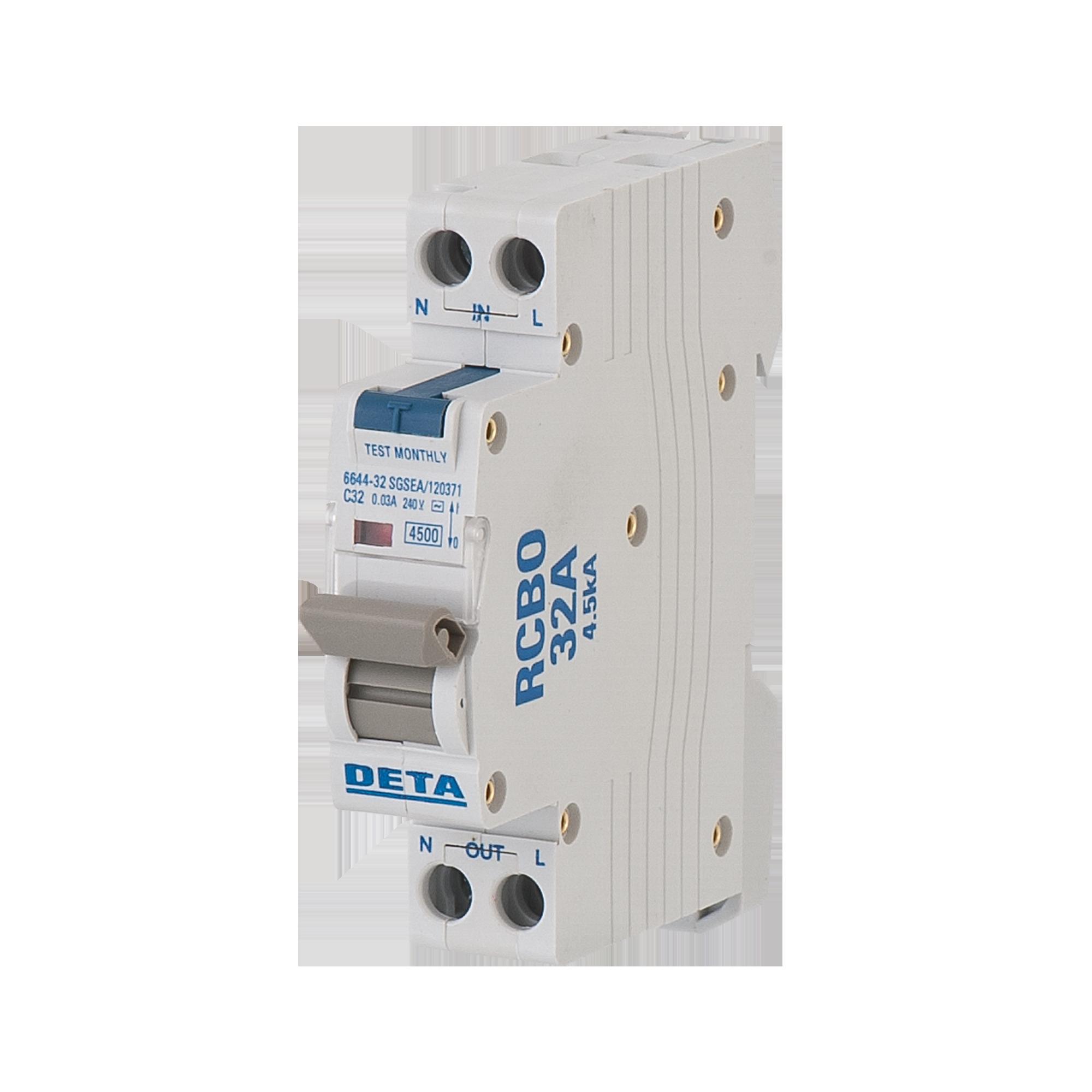 32a residual circuit breaker