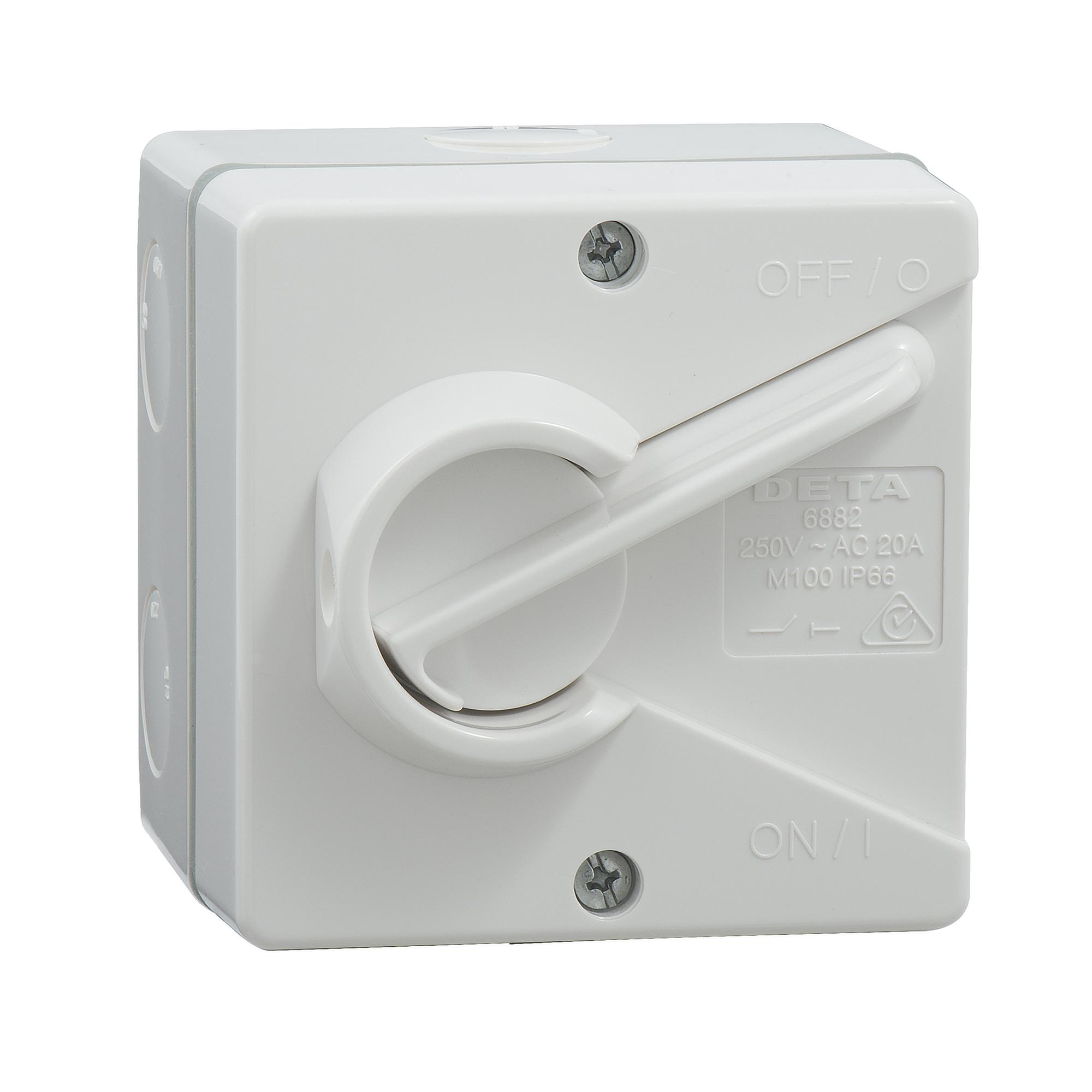 20amp weatherproof isolator