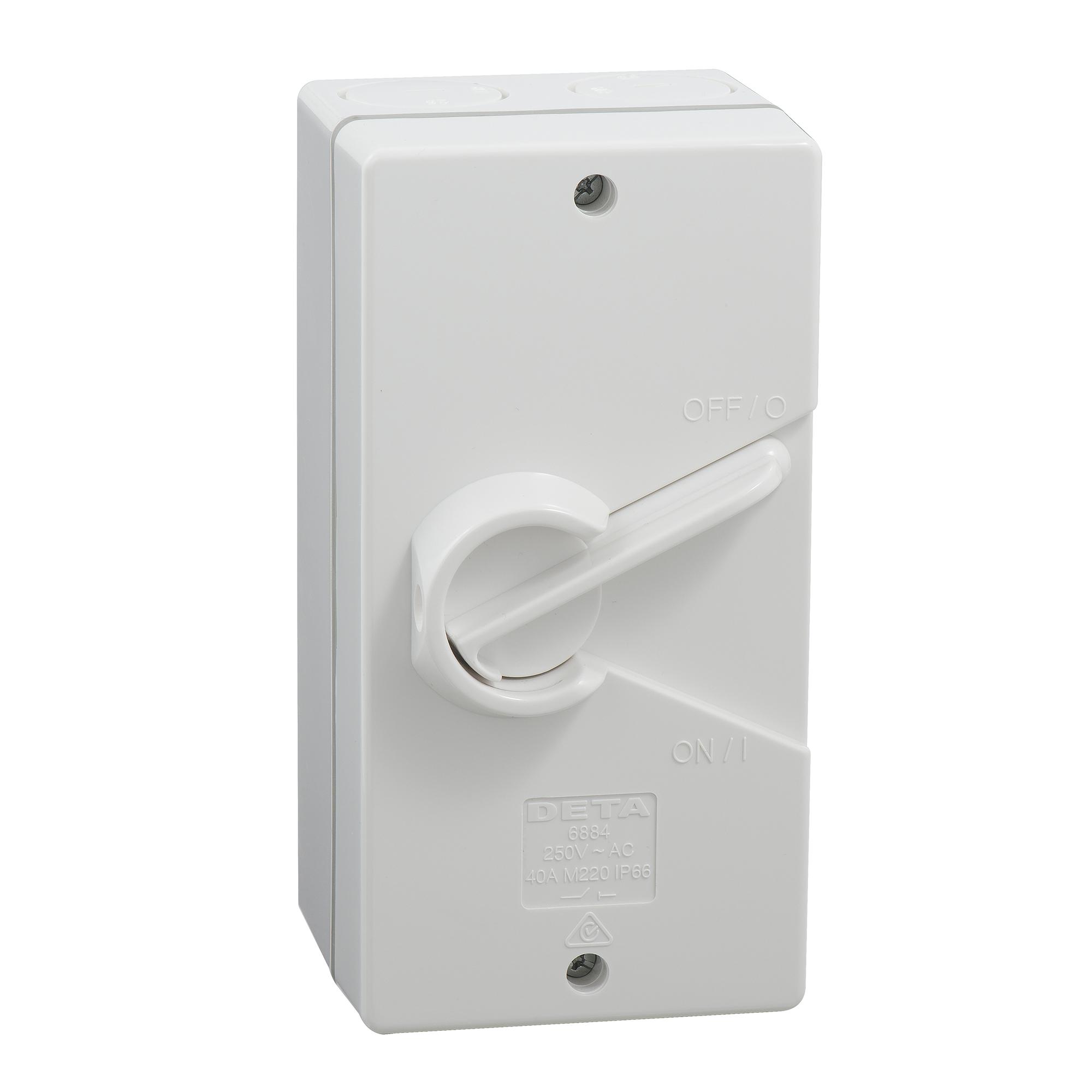 40amp weatherproof isolator